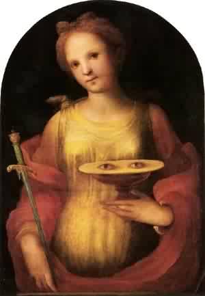 St lucy 1521 Domenico Beccafumi