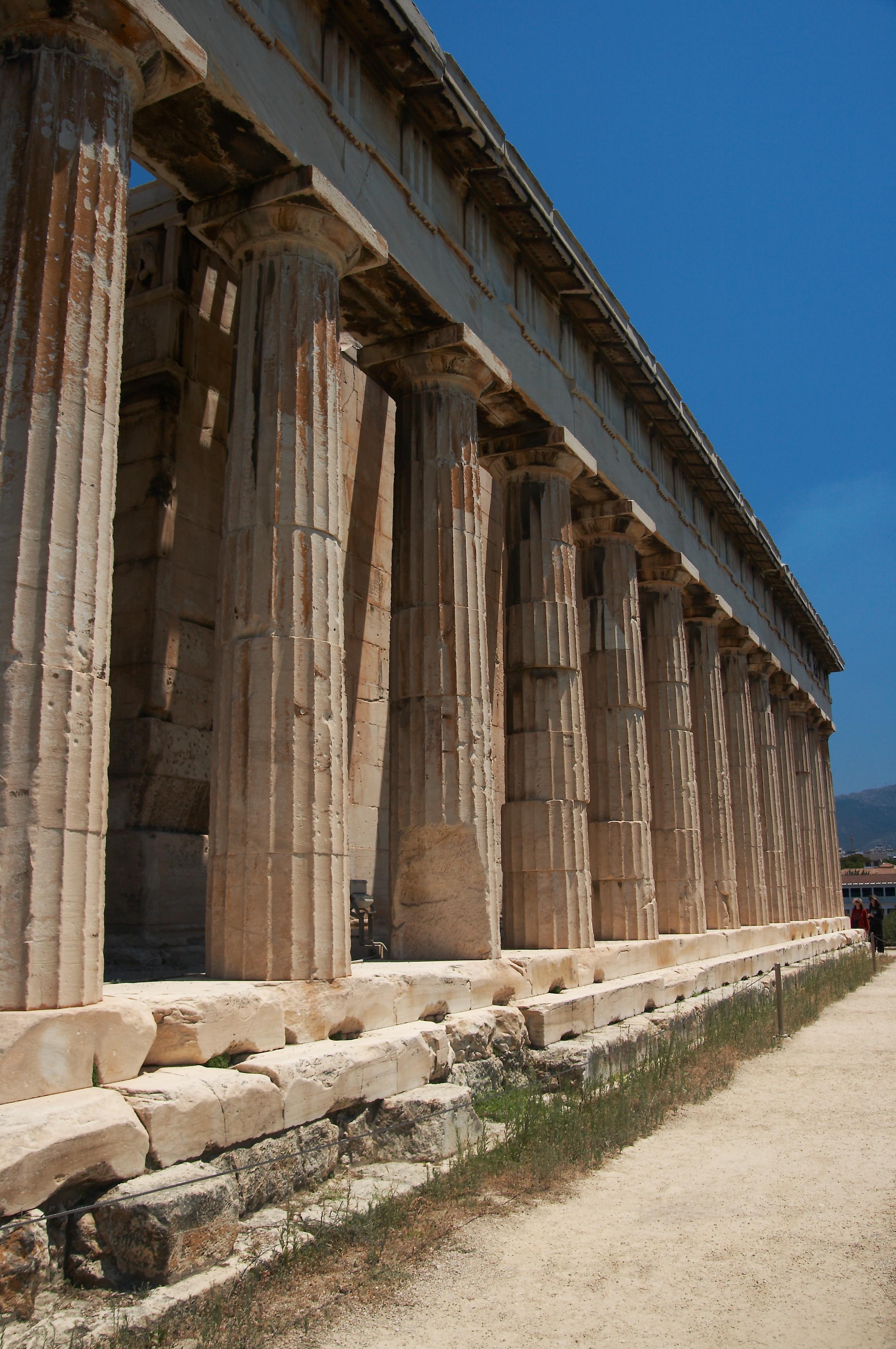 File:Temple of Hephaestus (South), Athens - 20070711.jpg ...
