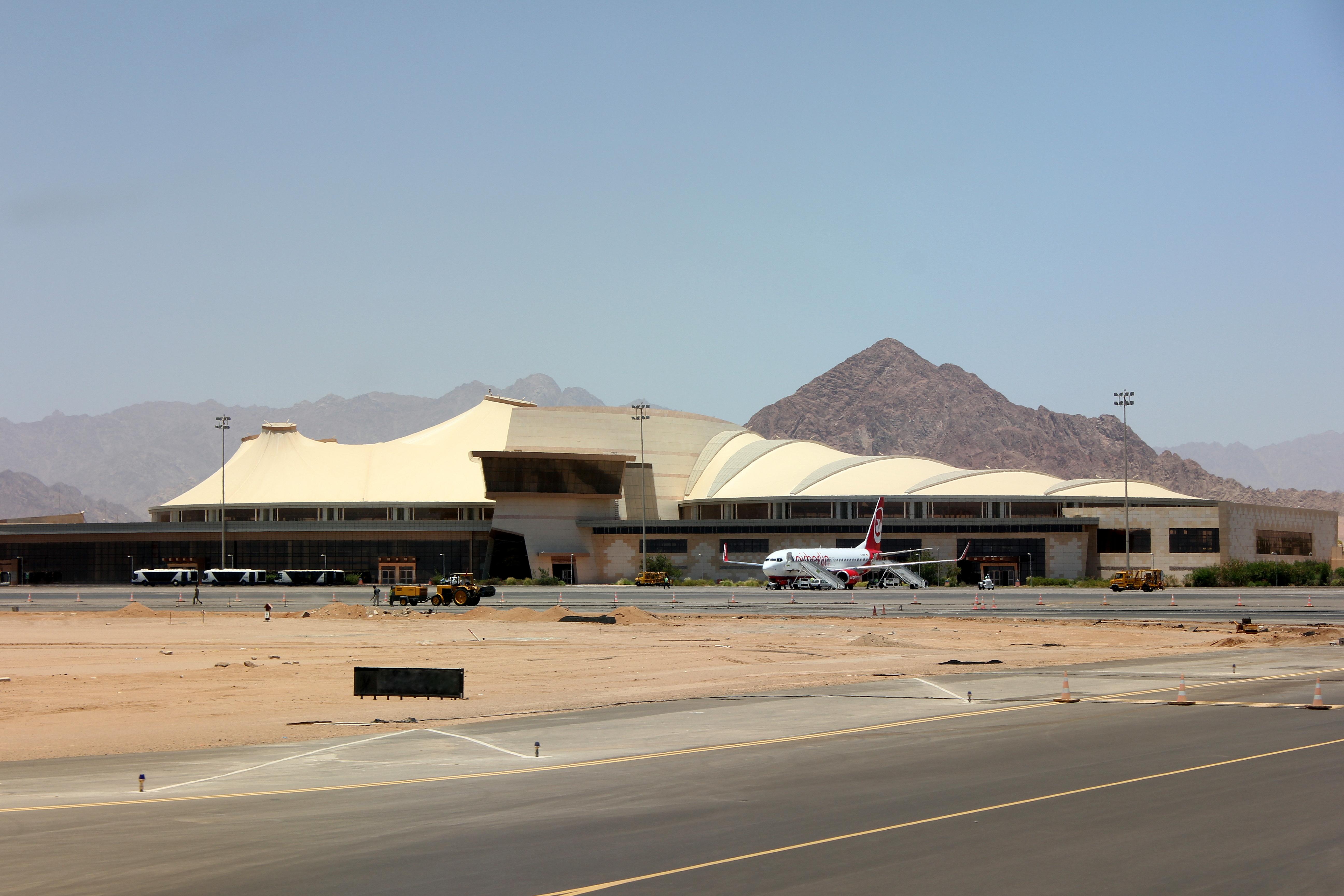 vliegveld hurghada egypte