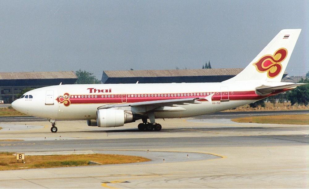 Depiction of Vuelo 311 de Thai Airways International