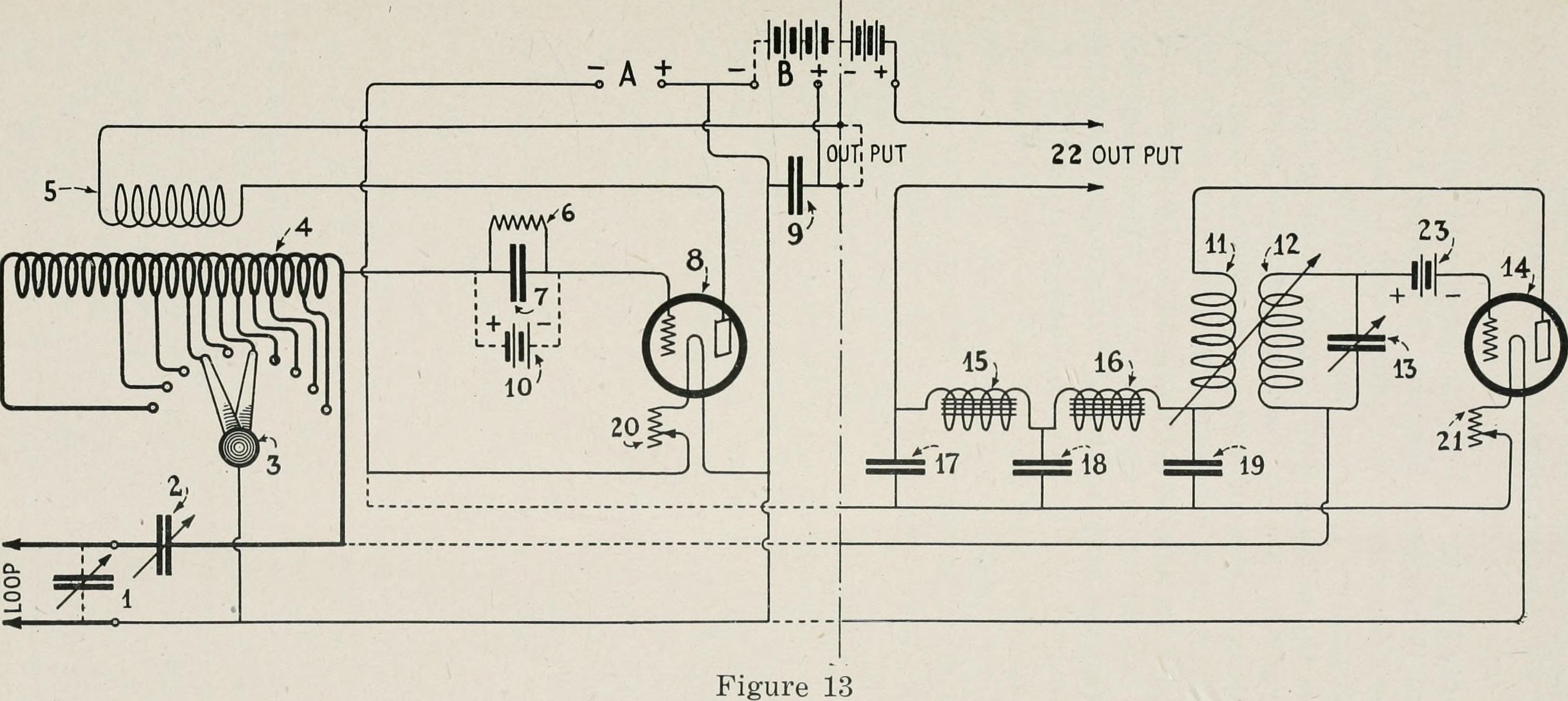 Simple Regenerative Radio Schematic