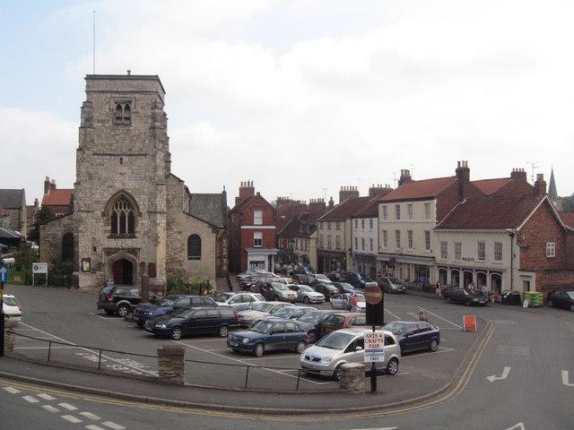 The Market Square, Malton, North Yorkshire (2008)