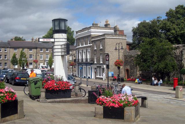 Bury St Edmunds Rail Station Car Park
