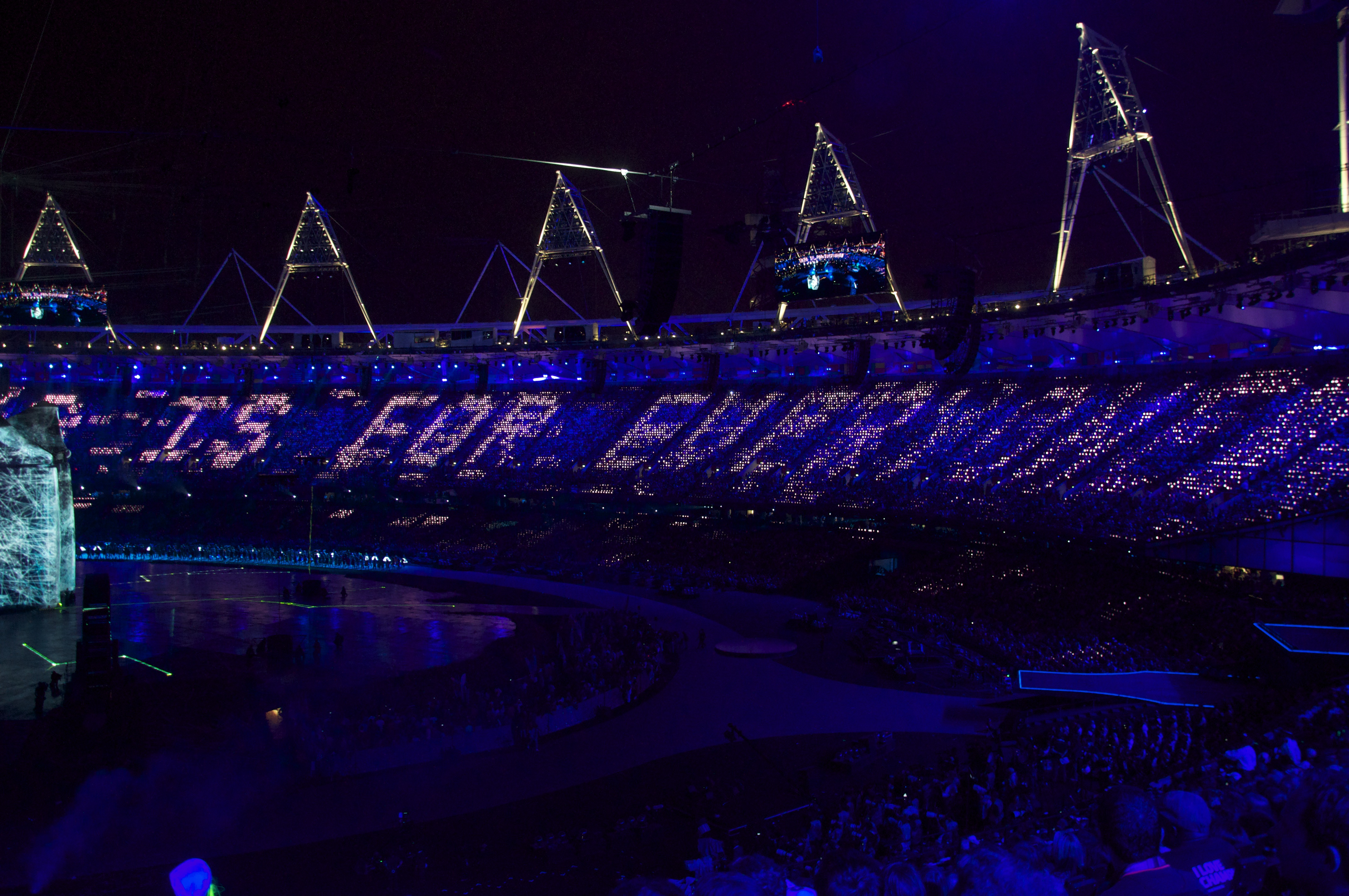 """THIS IS FOR EVERYONE"" - Tim Berners-Lee at the 2012 Olympics"