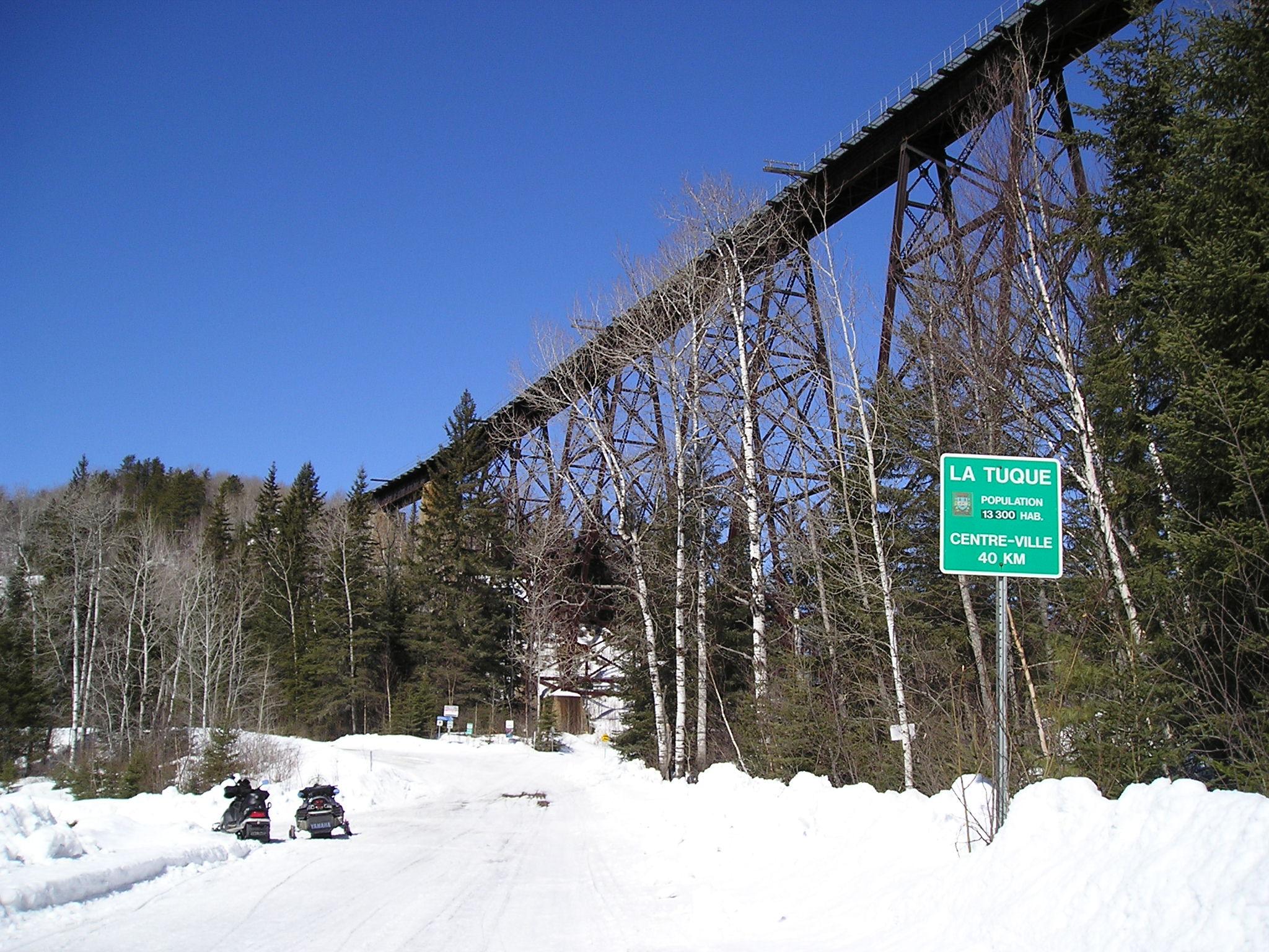 FichierTracel Pont Ferroviaire Rivire Du Milieu Prs De La Tuque