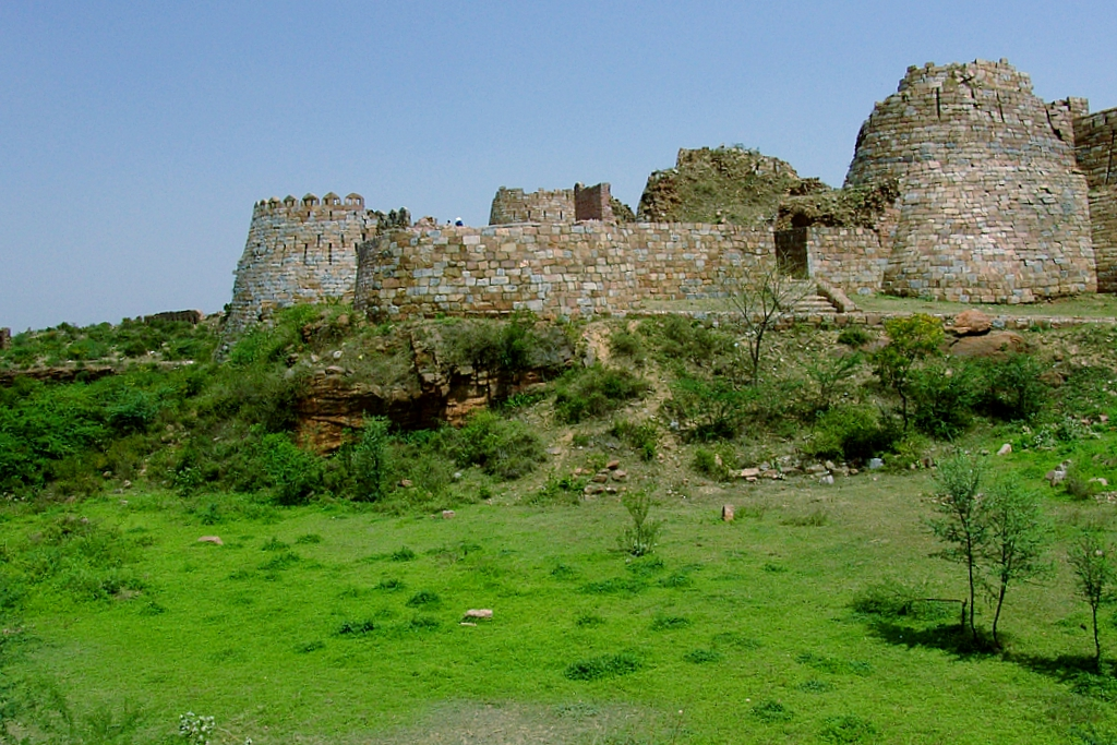 """Tughlaqabad Fort Delhi"""