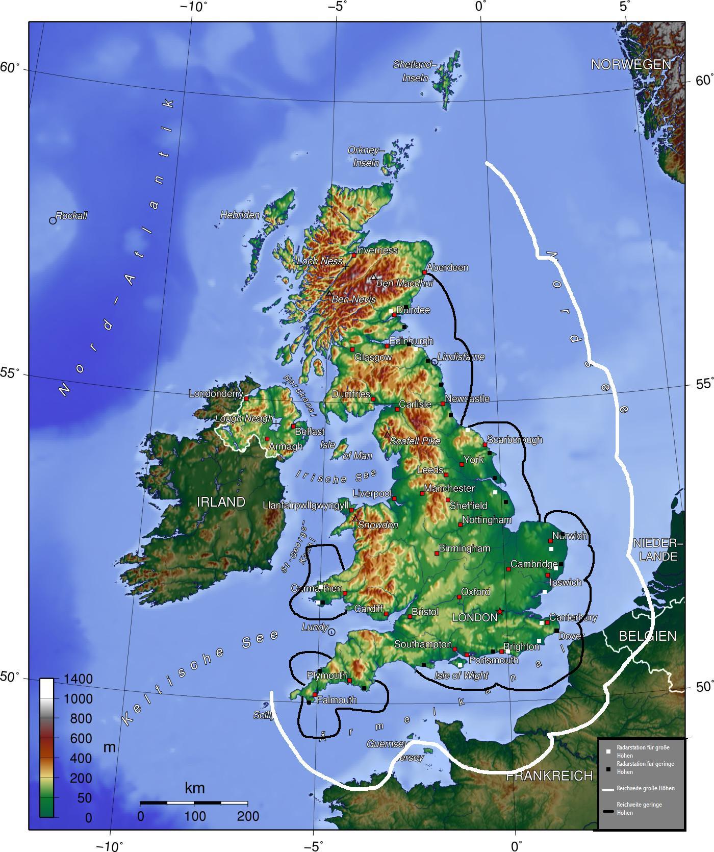 British radar coverage in 1940 cool maps pinterest british gumiabroncs Images