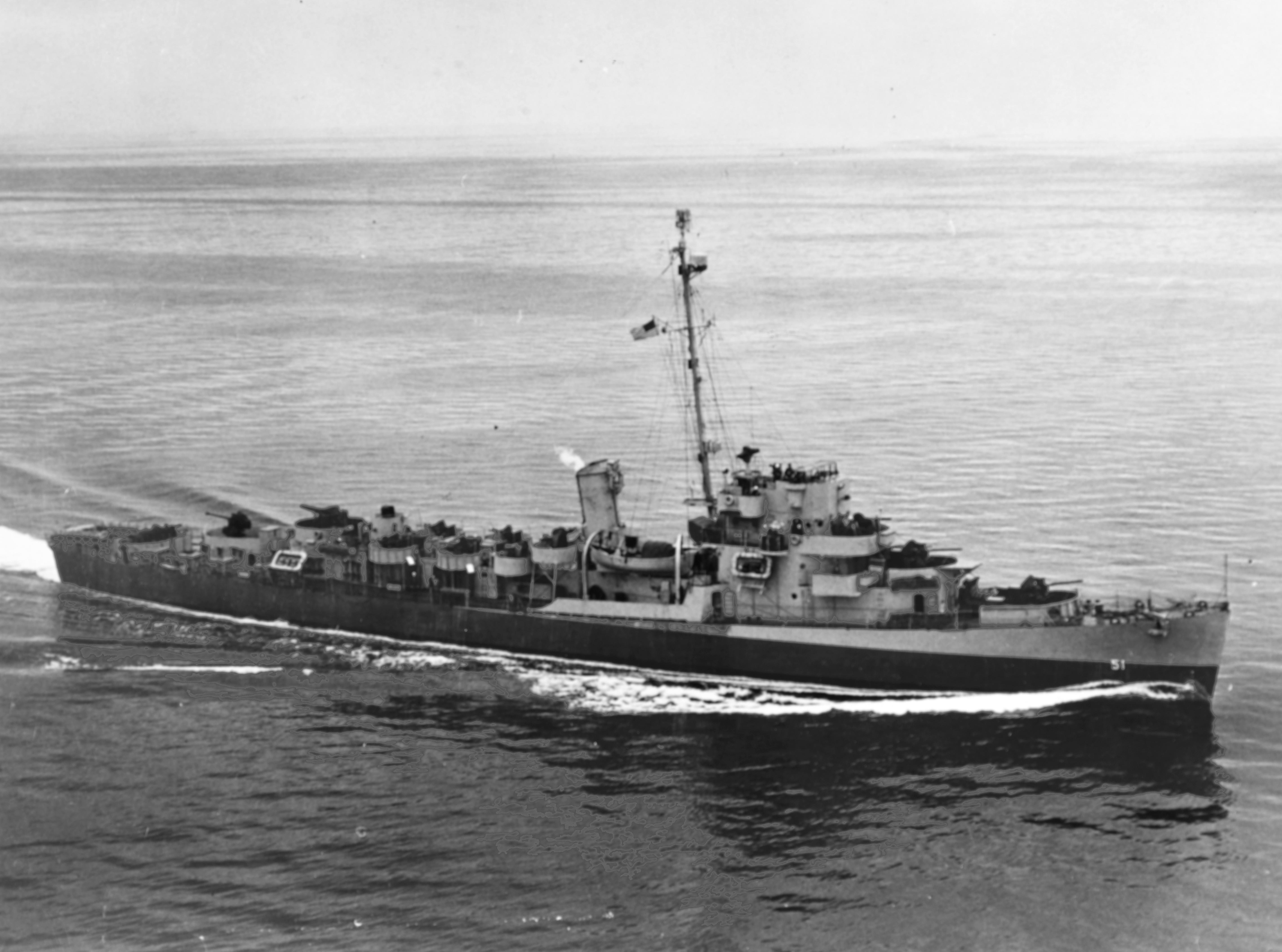USS Buckley (DE-51) underway in the Atlantic Ocean on 10 June 1944 (80-G-236608).jpg