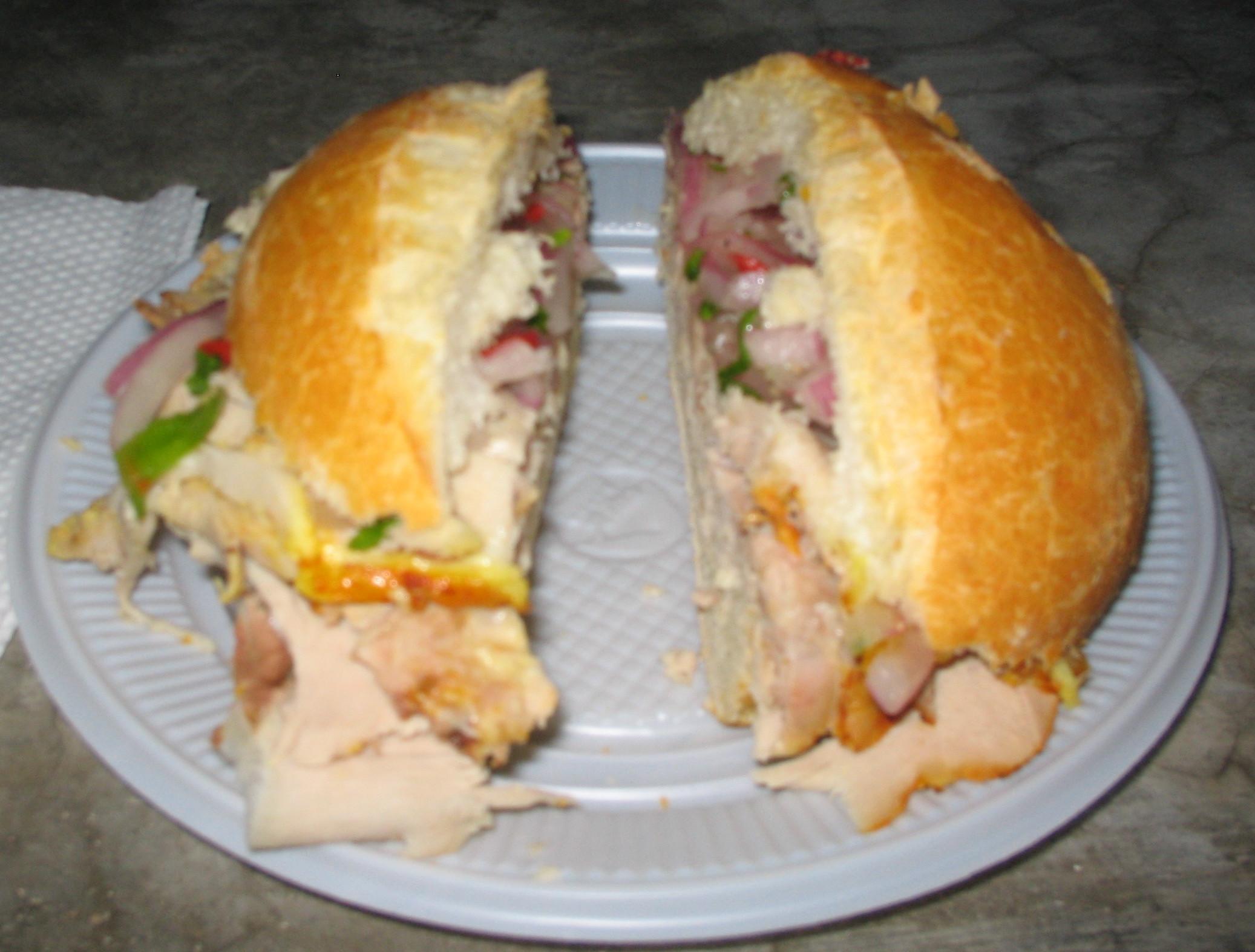 Butifarra (sándwich) - Wikipedia, la enciclopedia libre