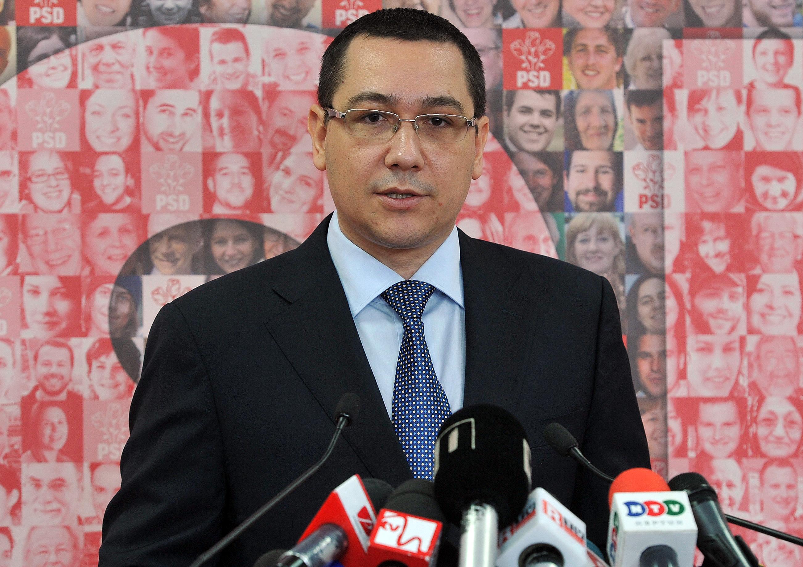 Depiction of Victor Ponta