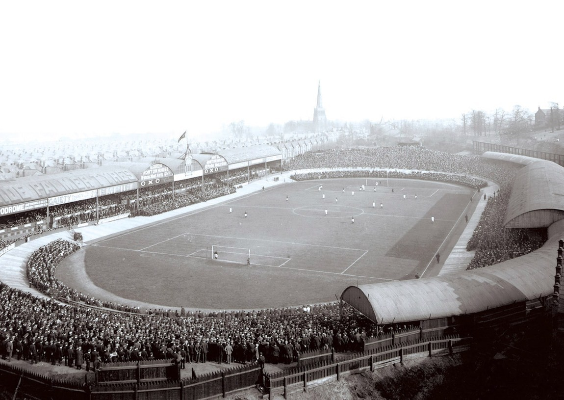 Villa Park w 1907 r.