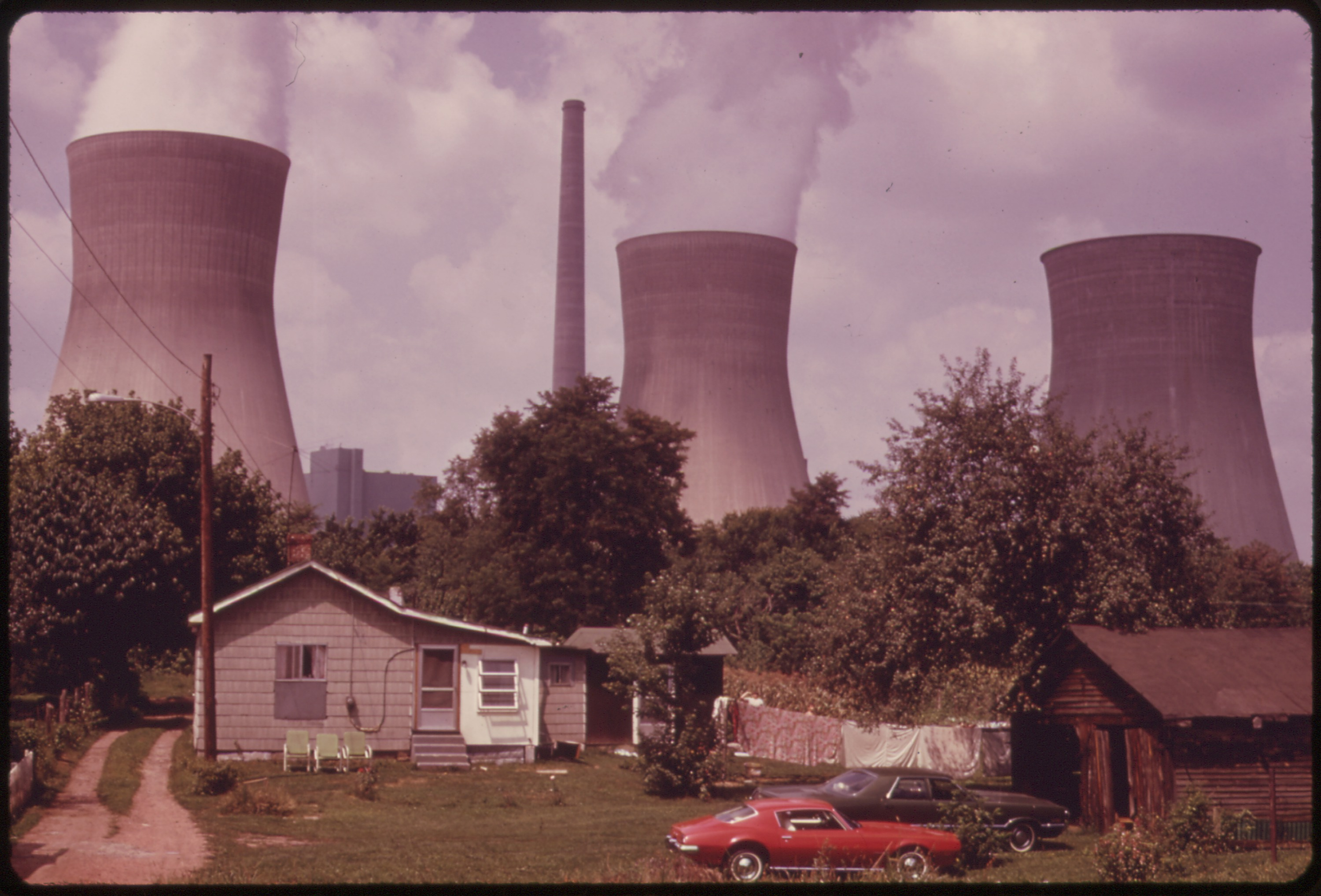 File Water Cooling Towers Of The John Amos Power Plant