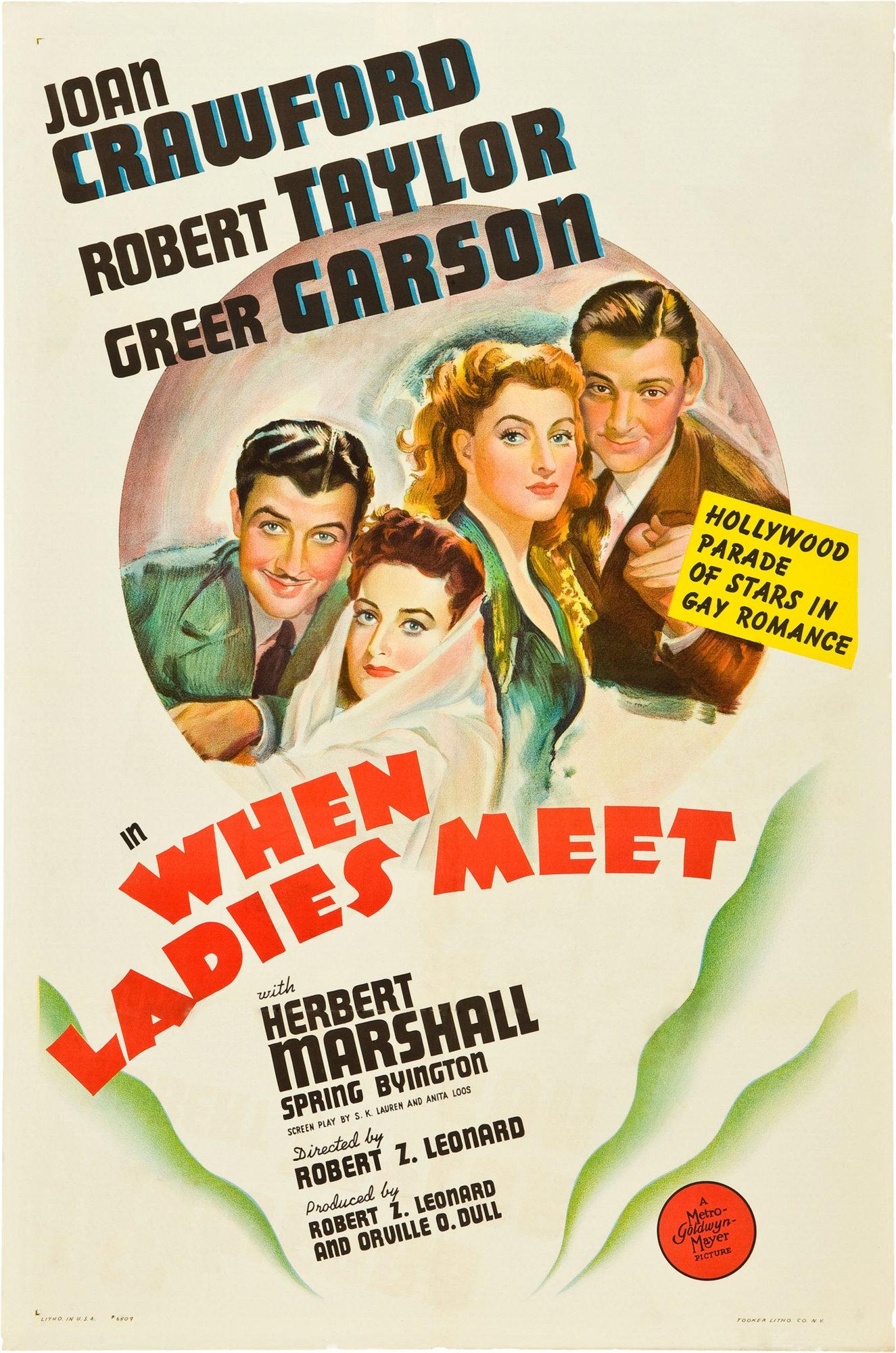 When Ladies Meet (1941 film) - Wikipedia