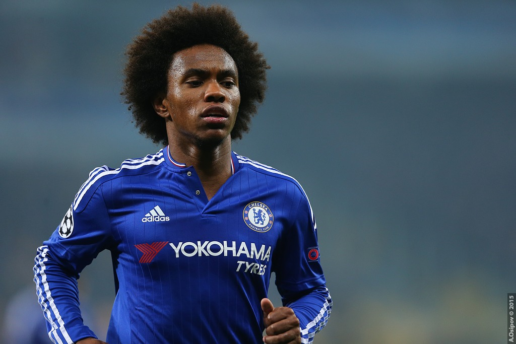 Image from Millsy's View of Willian playing for Chelsea F.C.