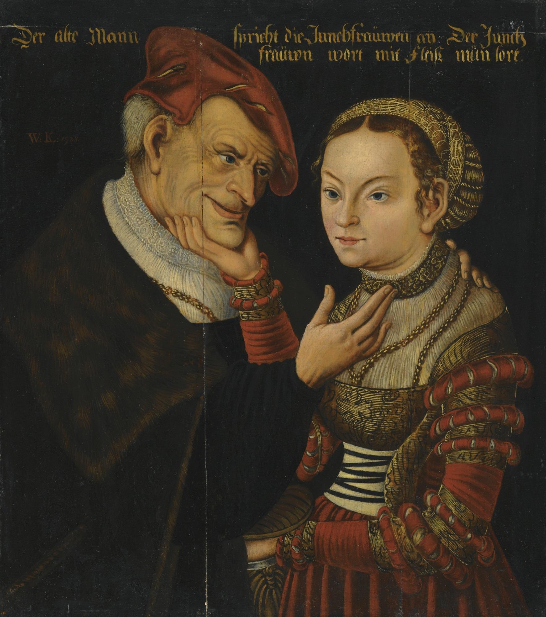 File:Wolfgang Krodel (I) - Das ungleiche Paar (1528).jpg