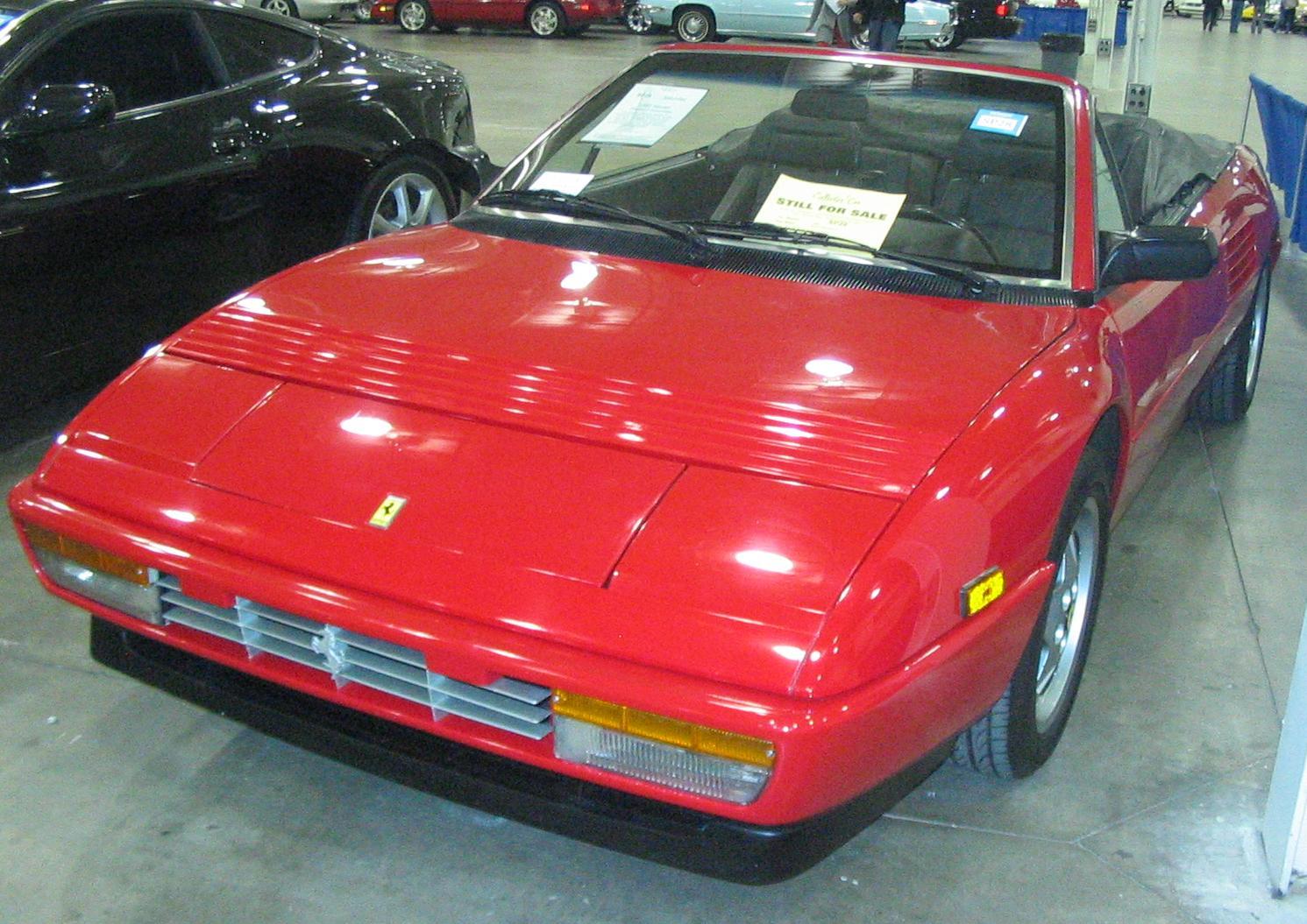 File 92 Ferrari Mondial Toronto Spring 12 Classic Car Auction Jpg Wikimedia Commons