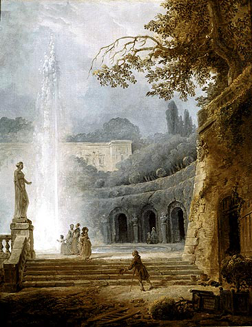 Файл:'The Fountain', oil on canvas painting by Hubert Robert, c. 1775-78, Kimbell Art Museum.jpg