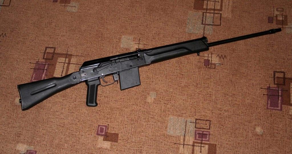 Сайга (огнестрельное оружие) -