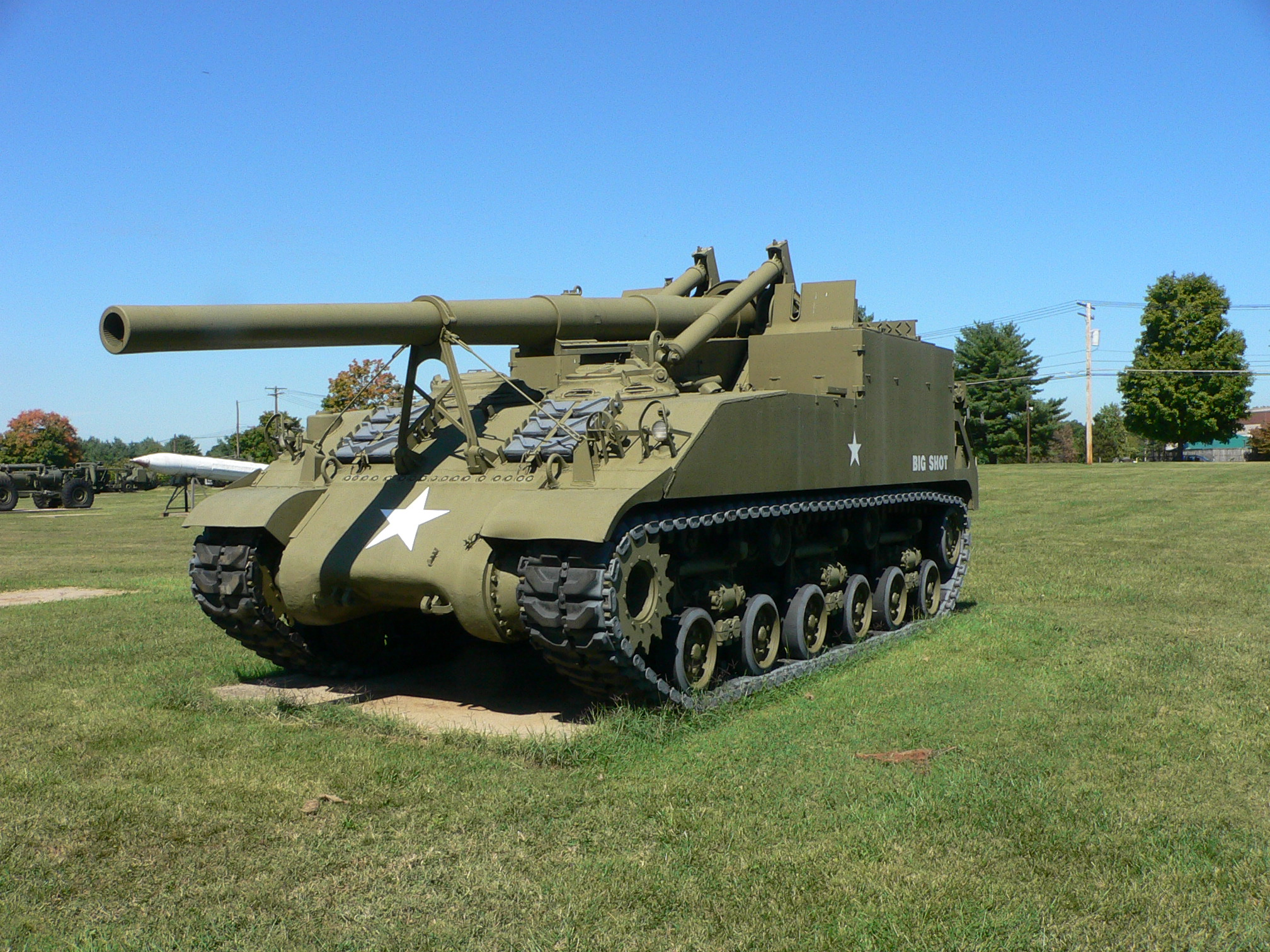 File 155mm gun motor carriage m40 2 jpg wikimedia commons for Esstisch 1 40 m