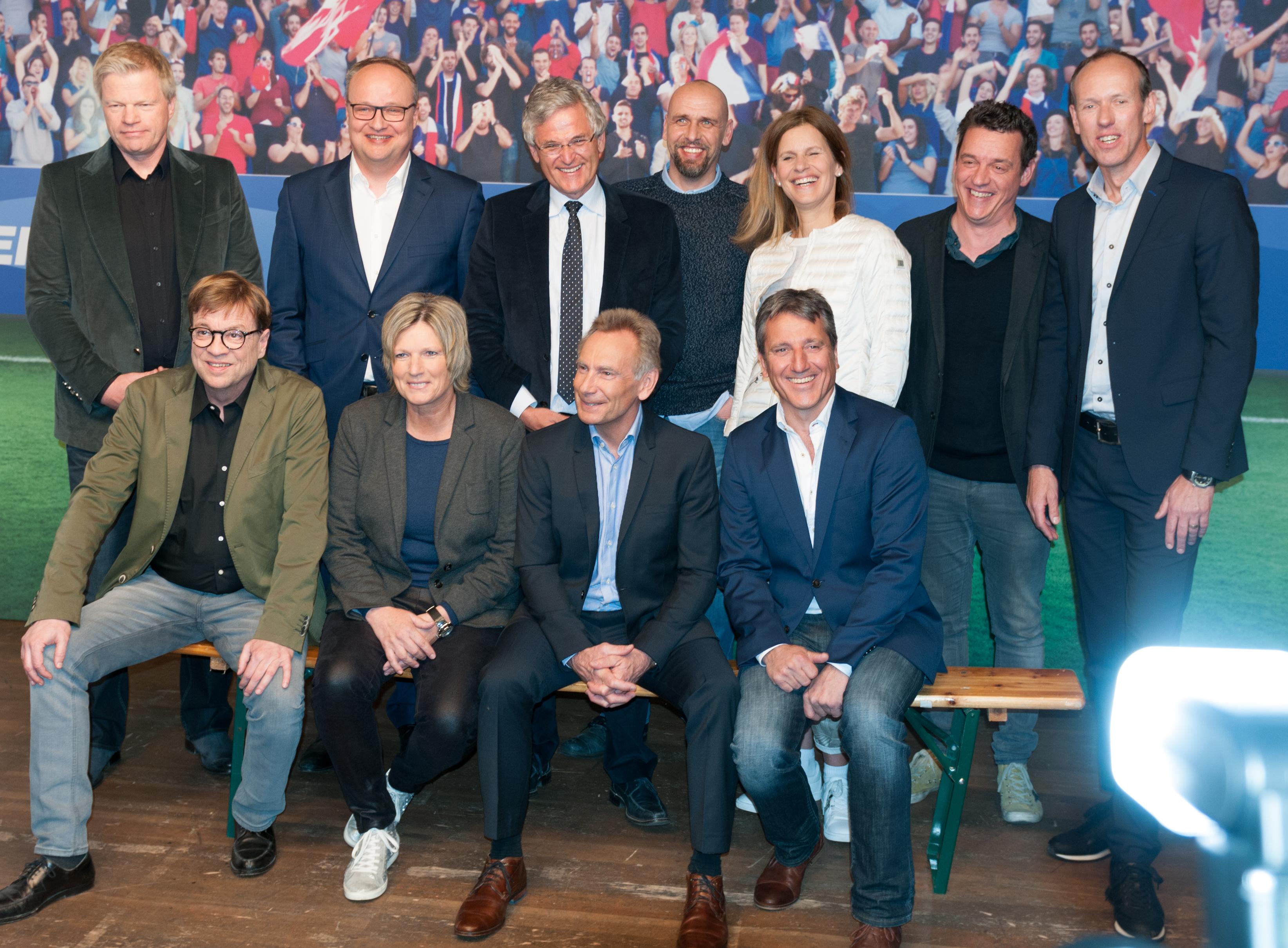 pressekonferenz ard zdf zur fuball em 2016 - Alexander Bommes Lebenslauf