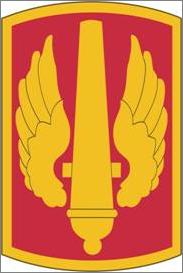 Csib for u. S. Army 18th field artillery with airborne tab.