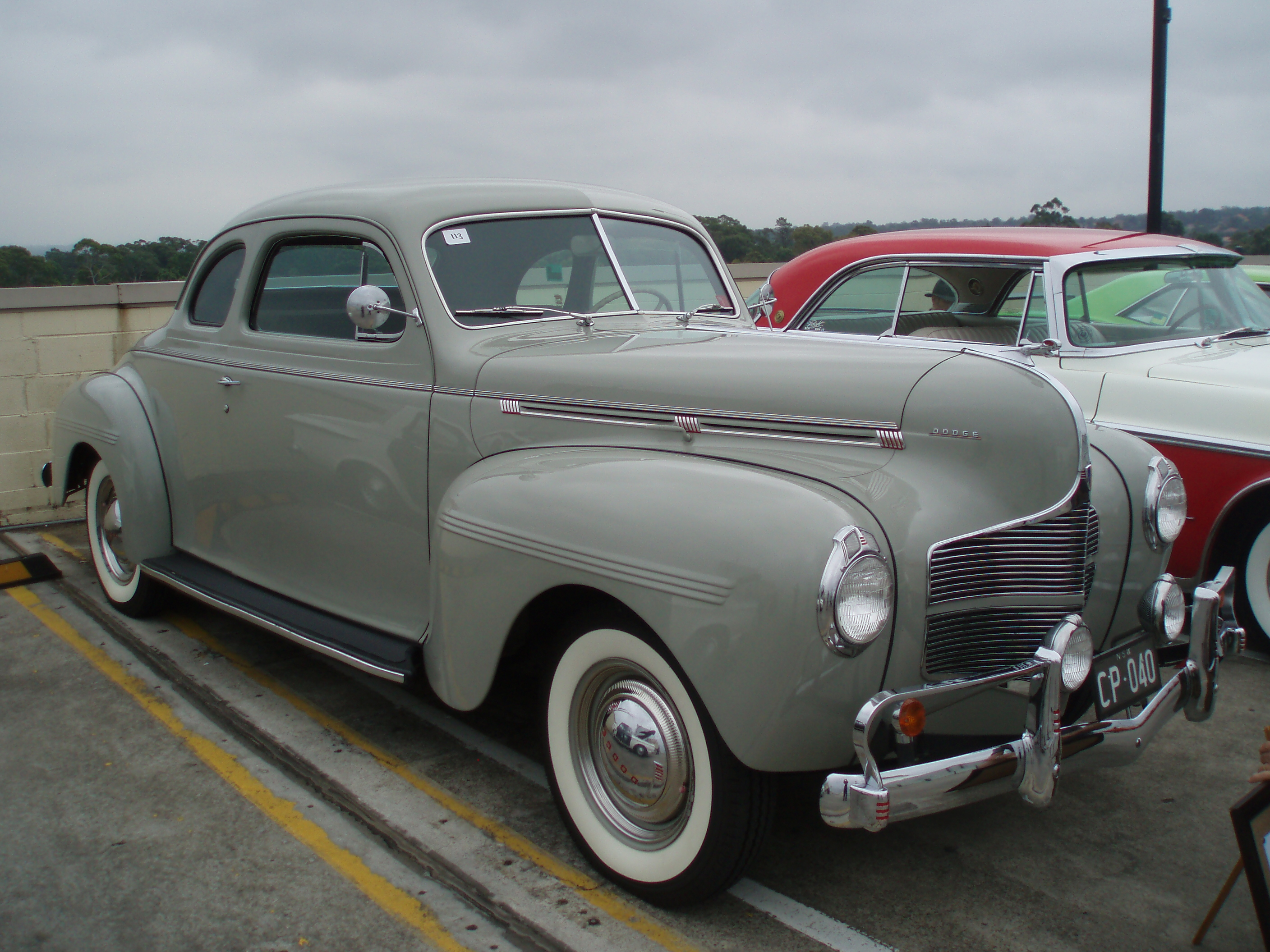 File:1940 Dodge D14 Deluxe Business Coupe (5409386201).jpg - Wikimedia Commons