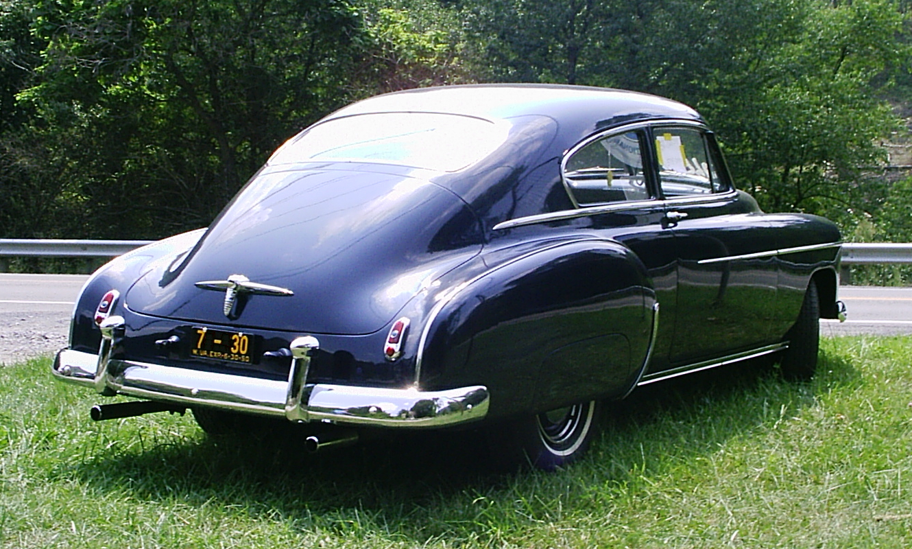 Spiritual Dna In 1951 Chev Fleetline Fastback