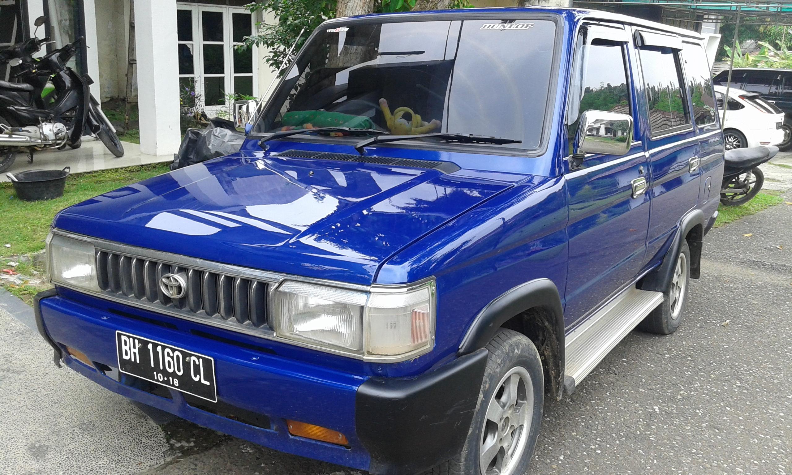 Toyota Kijang Wikipedia Bahasa Melayu Ensiklopedia Bebas