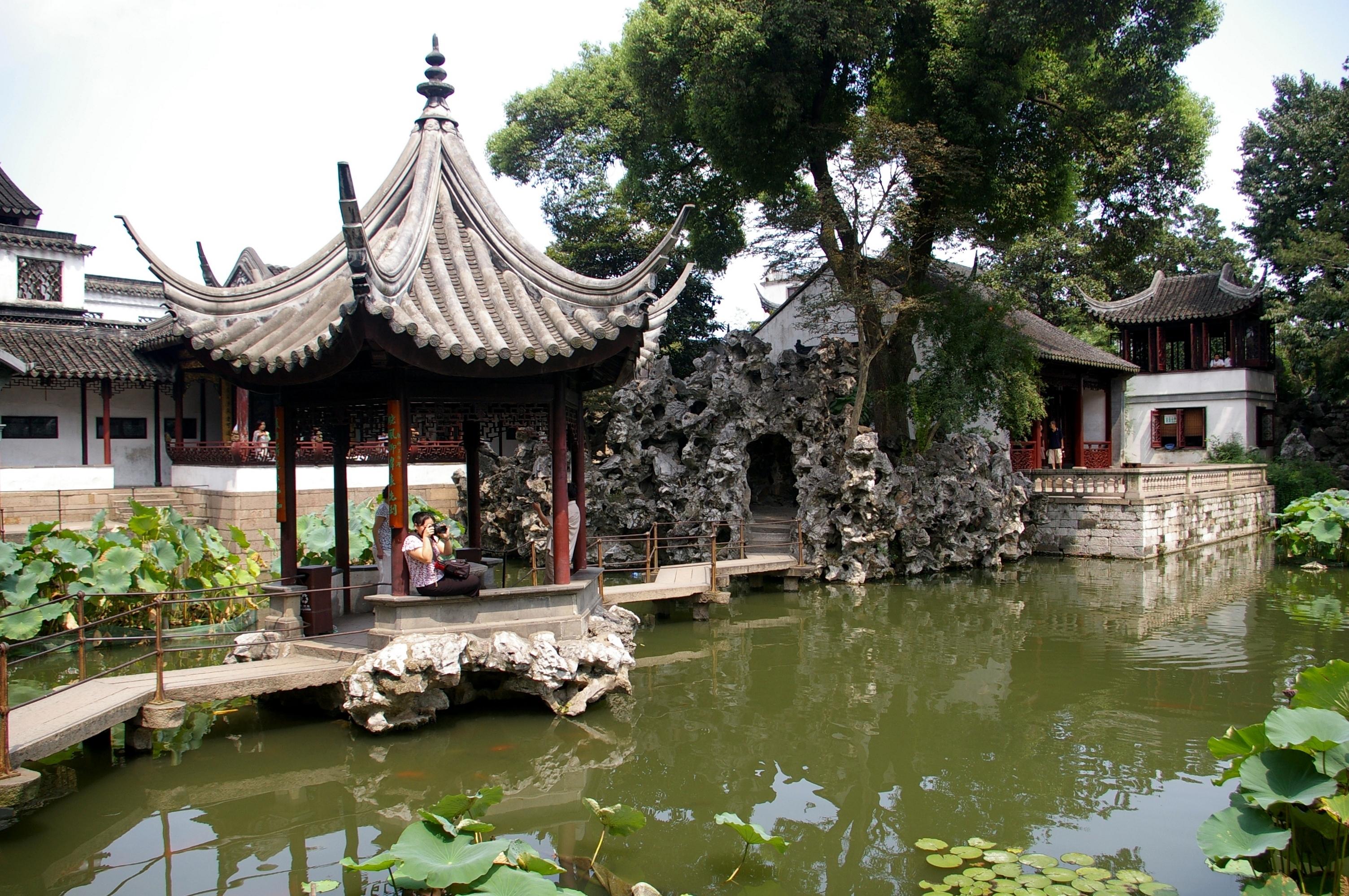 File20090905 Suzhou Lion Grove Garden 4520jpg Wikimedia Commons