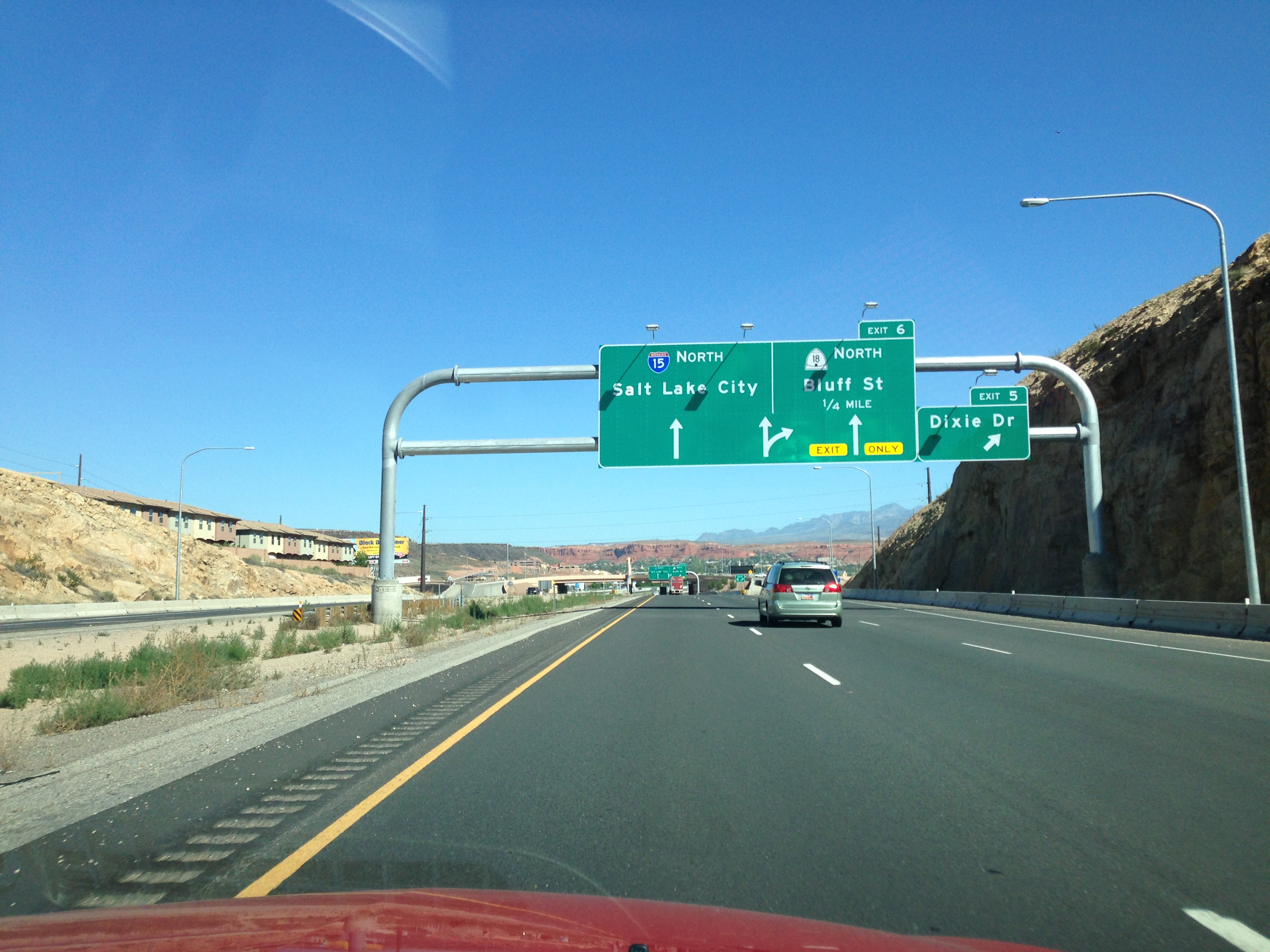 Interstate 15 in Utah
