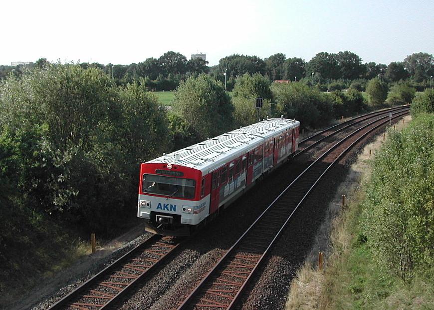 Bahnstrecke hamburg altona neum nster wikipedia for Tunnel schnelsen