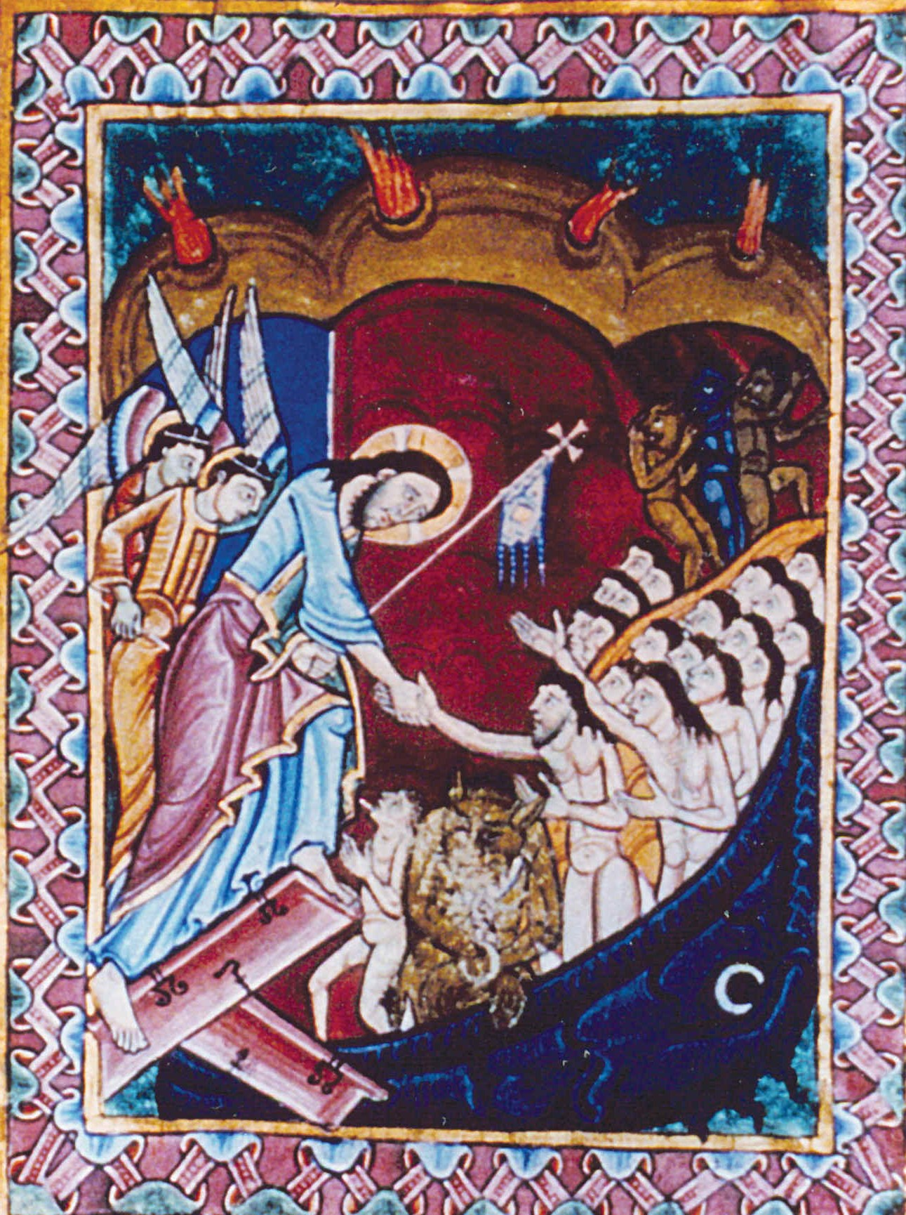 https://upload.wikimedia.org/wikipedia/commons/b/b1/Albani-Psalter_Abstieg_Christi_ins_Totenreich.jpg