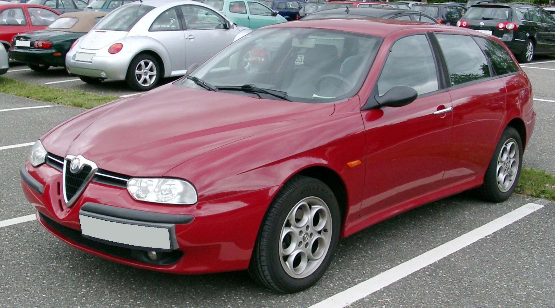 Alfa romeo 156 crosswagon wikipedia 14
