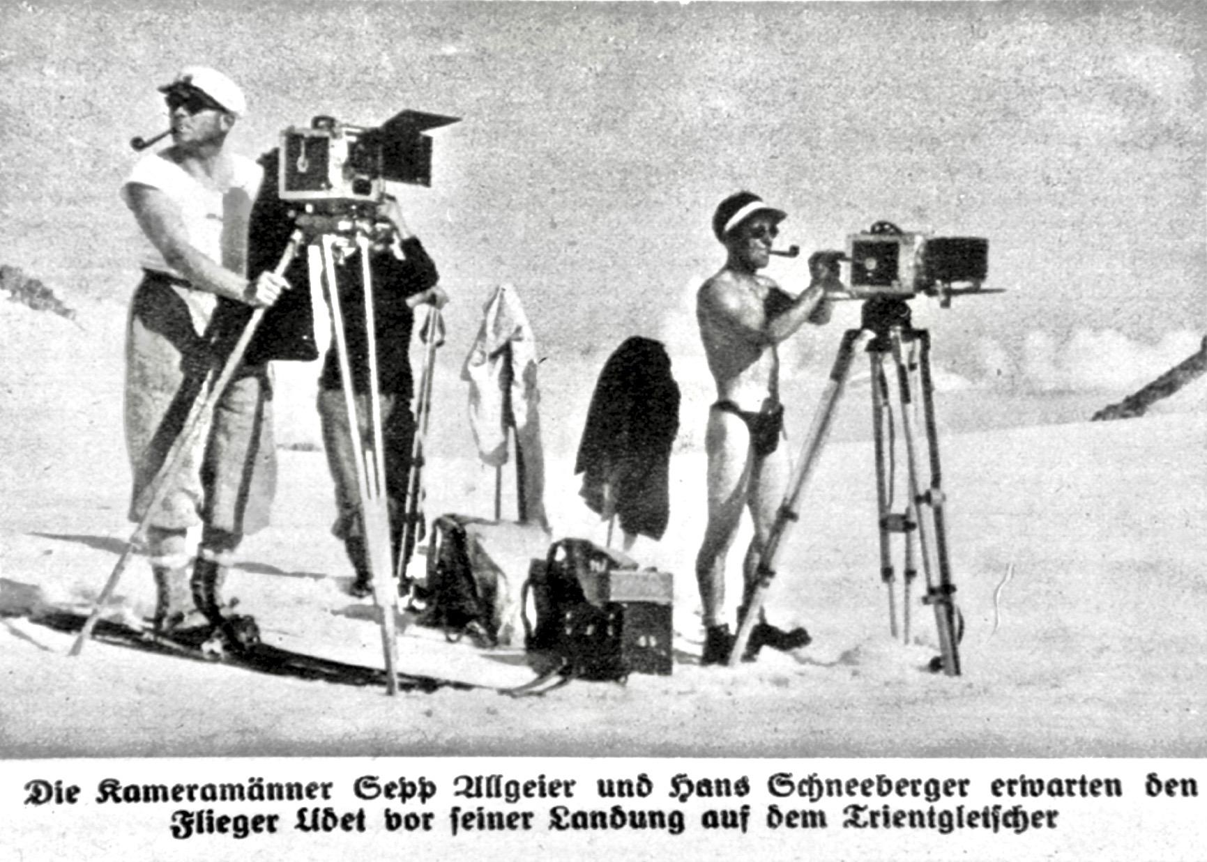 Resultado de imagen para Sepp Allgeier