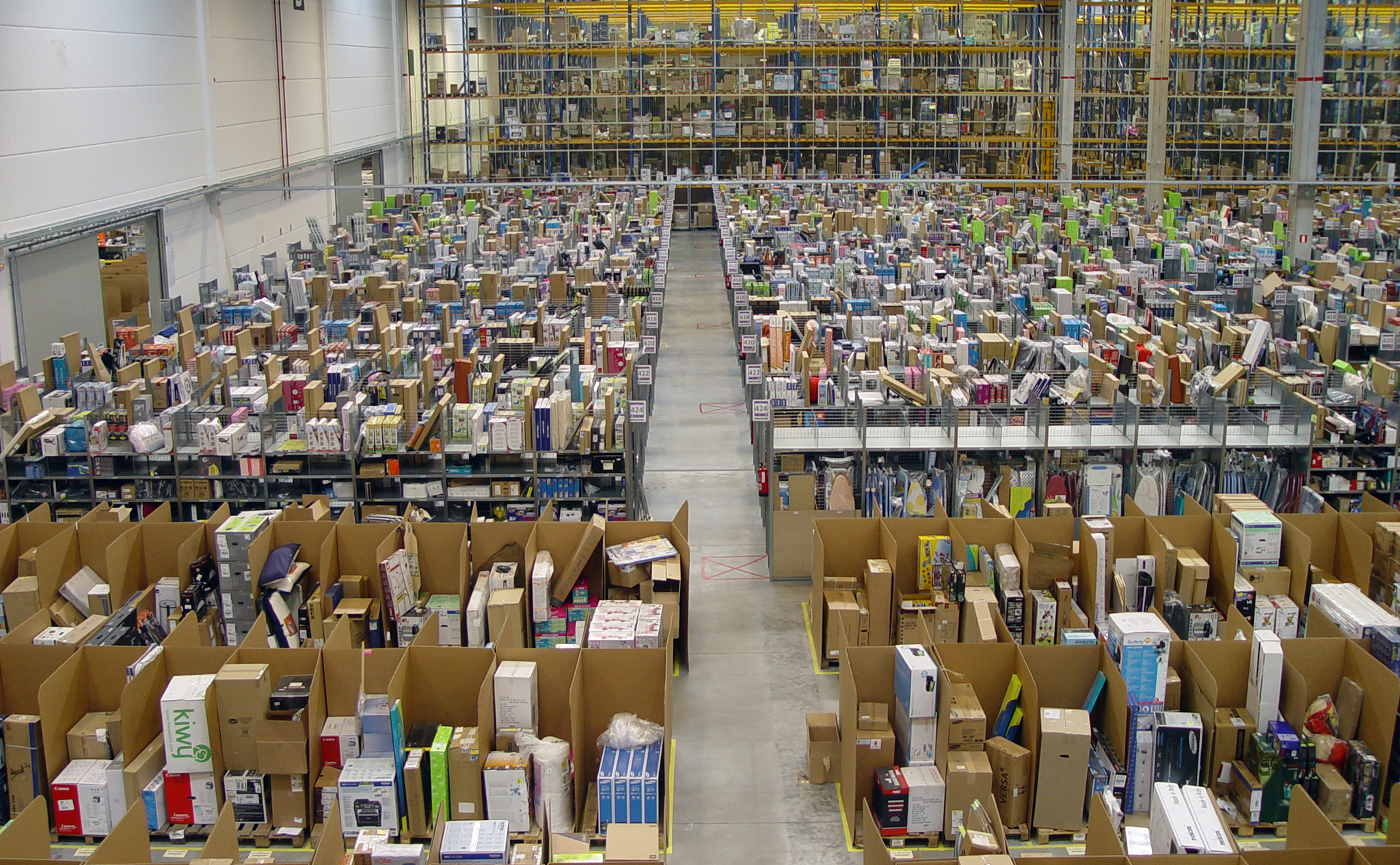 Amazon Logistics Center Bad Hersfeld Building Cost