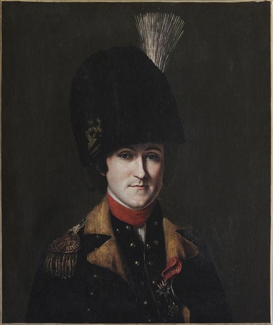 Portrait de La Rouërie, par Charles Willson Peale, 1783.