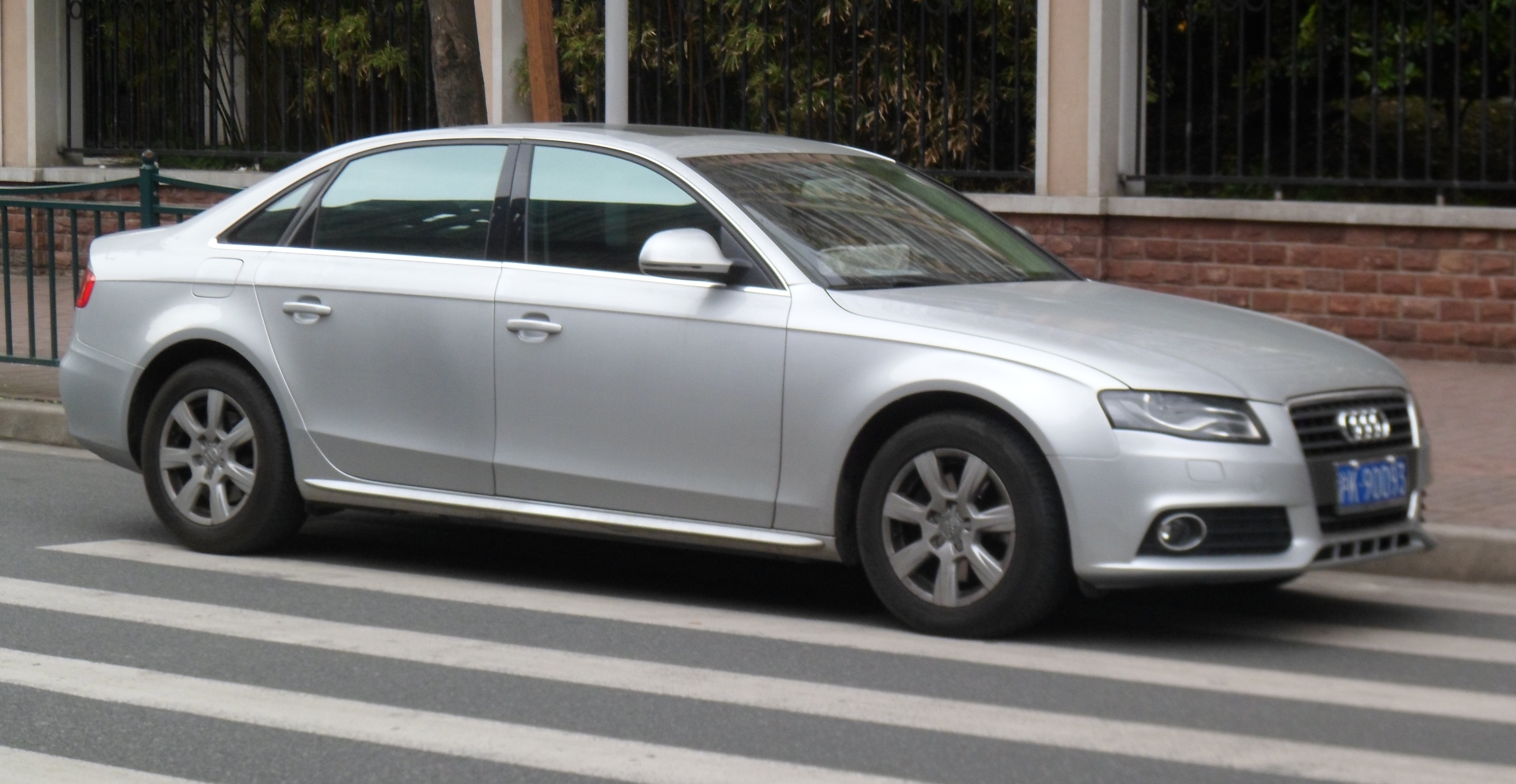 File Audi A4l B8 02 China 2012 04 14 Jpg Wikimedia Commons