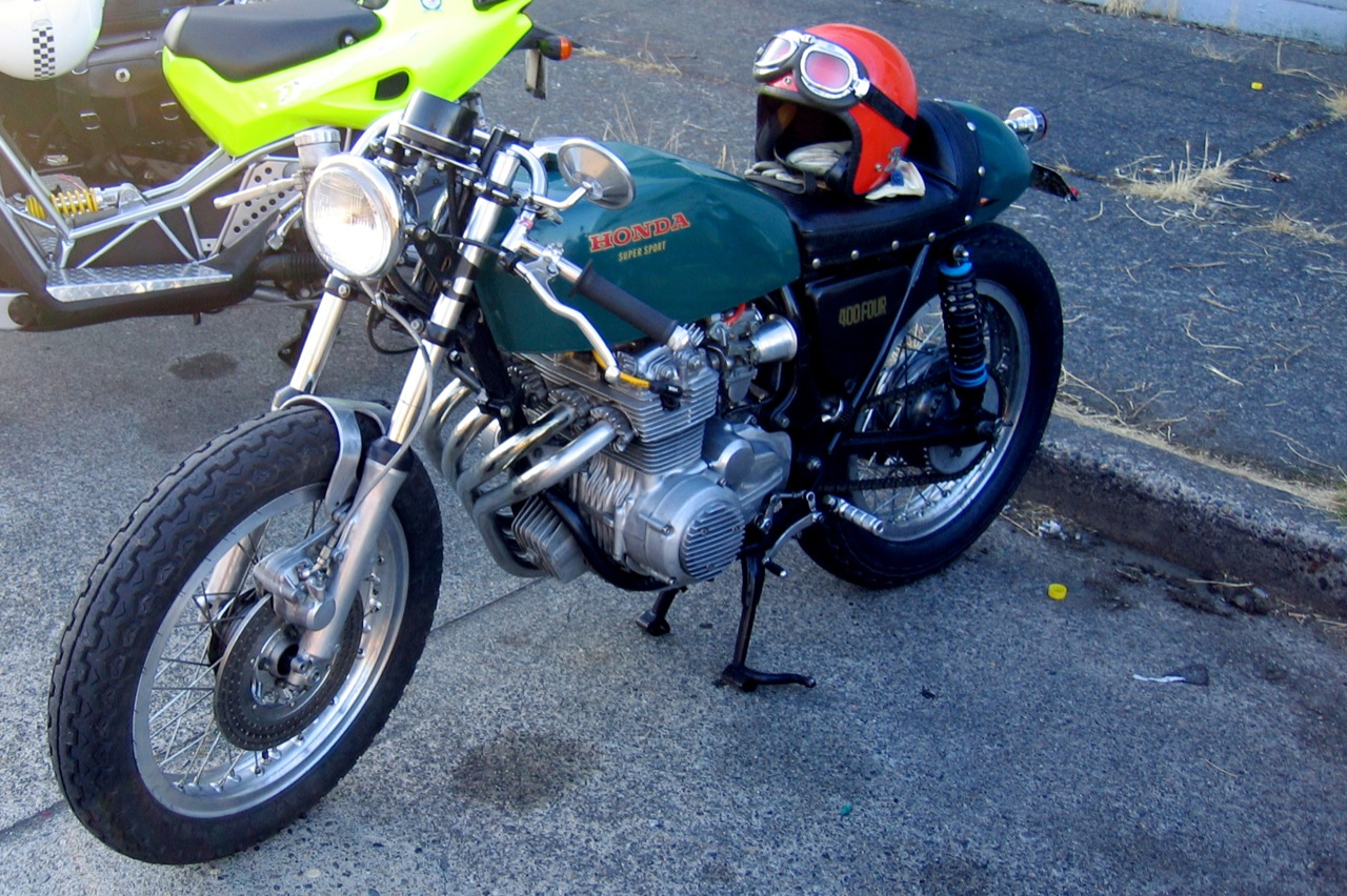 Cafe Racer Motorcycle Club Seattle