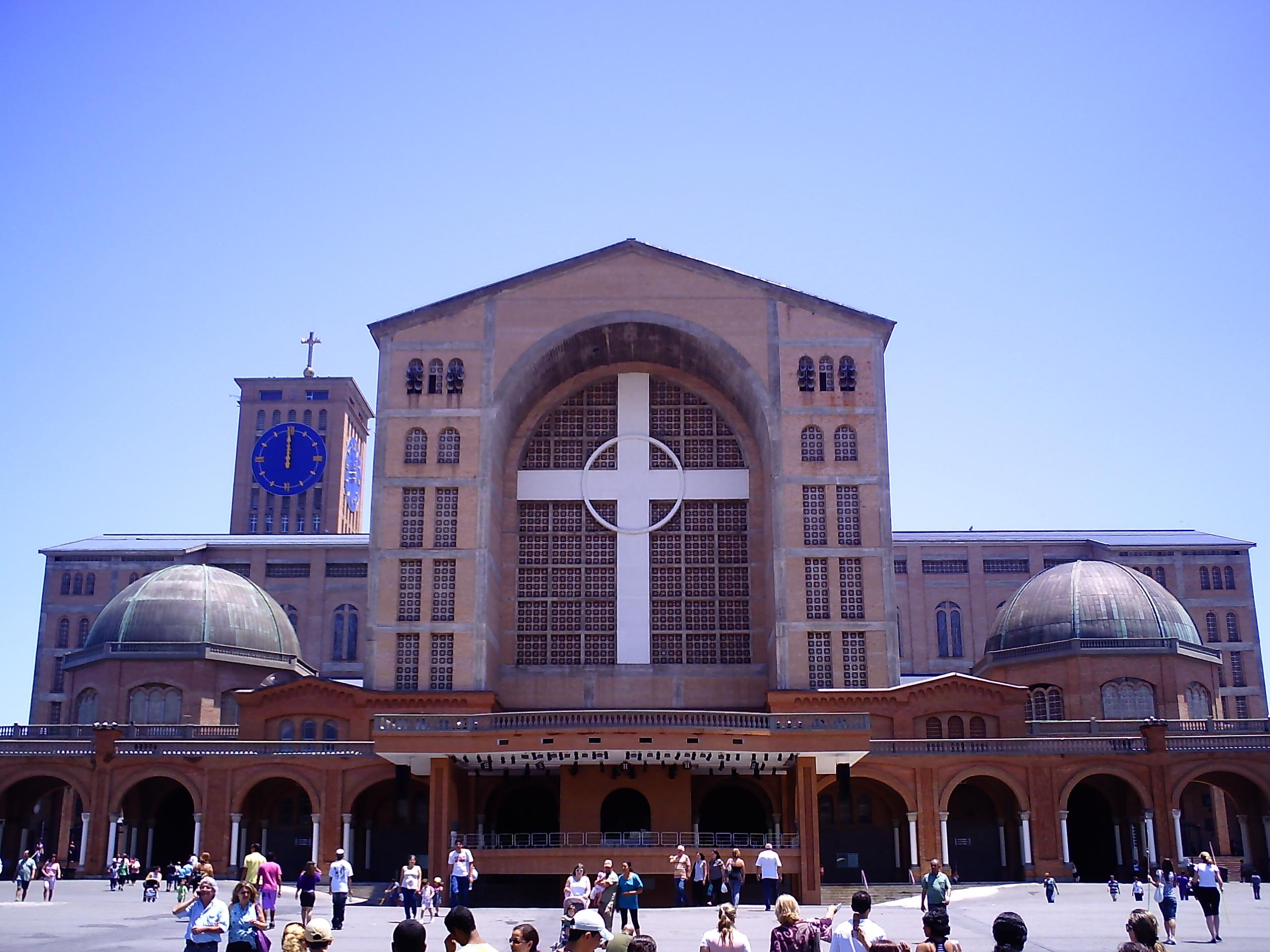 File Frente Da Basílica De Nossa Senhora Aparecida: File:Basílica Aparecida.JPG