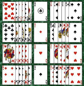 Patience Legen 52 Karten Anleitung
