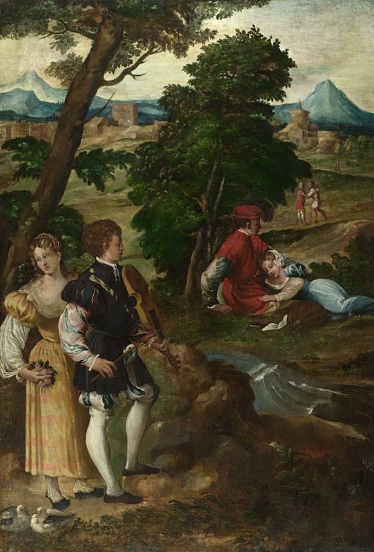 The garden of love wikidata for Giardino wikiquote