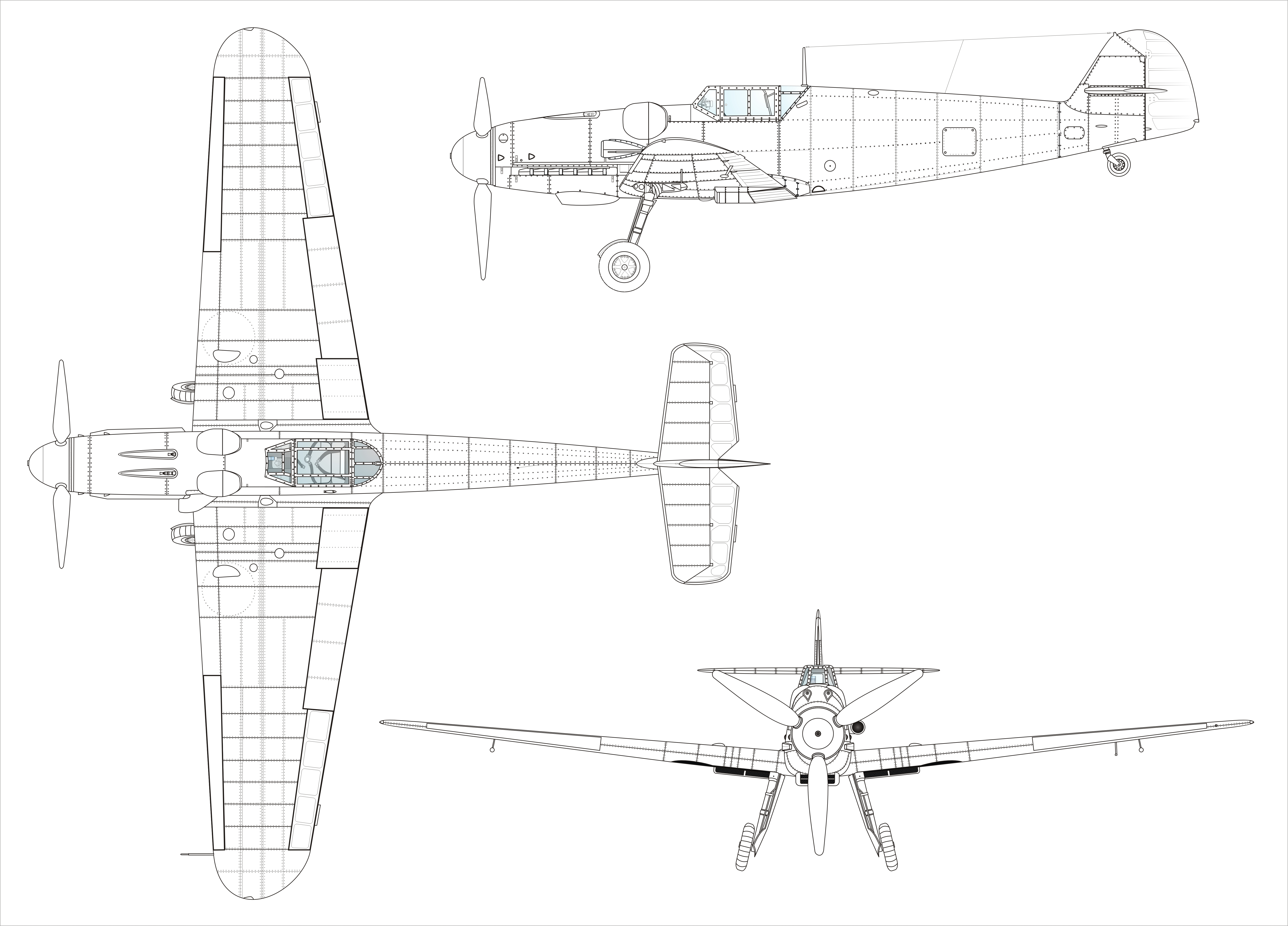 9398184 Help High Quality 3 View Needed Bf 109g 6 A