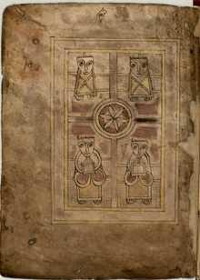 Book of the Deer, Ms Ii.6.32, fol.85v