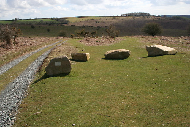 Bridleway to Double Waters - geograph.org.uk - 797602