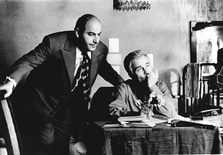 Armin Mueller-Stahl (rechts) mit Manfred Krug in