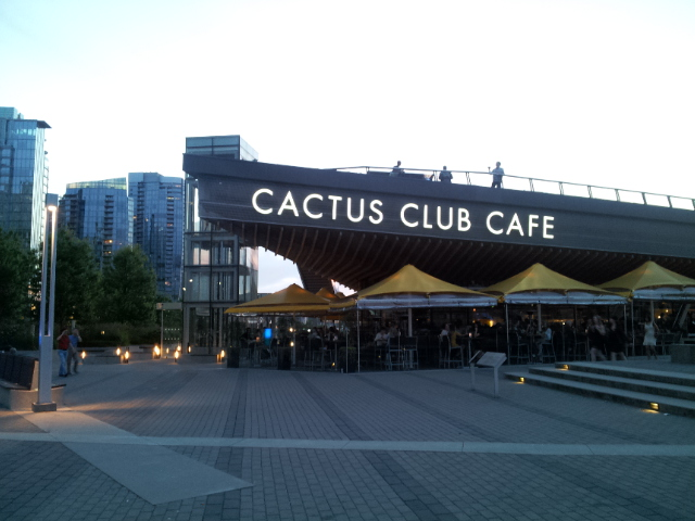 Cactus Club Cafe Vancouver Hours