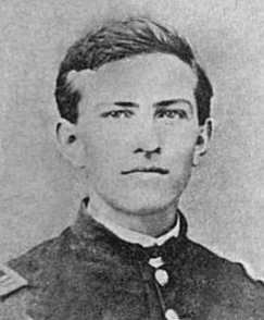 Foraker as a captain in the Union Army