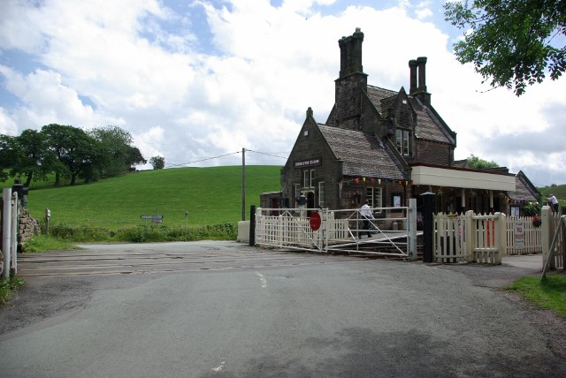 Cheddleton Station and level crossing - geograph.org.uk - 874227