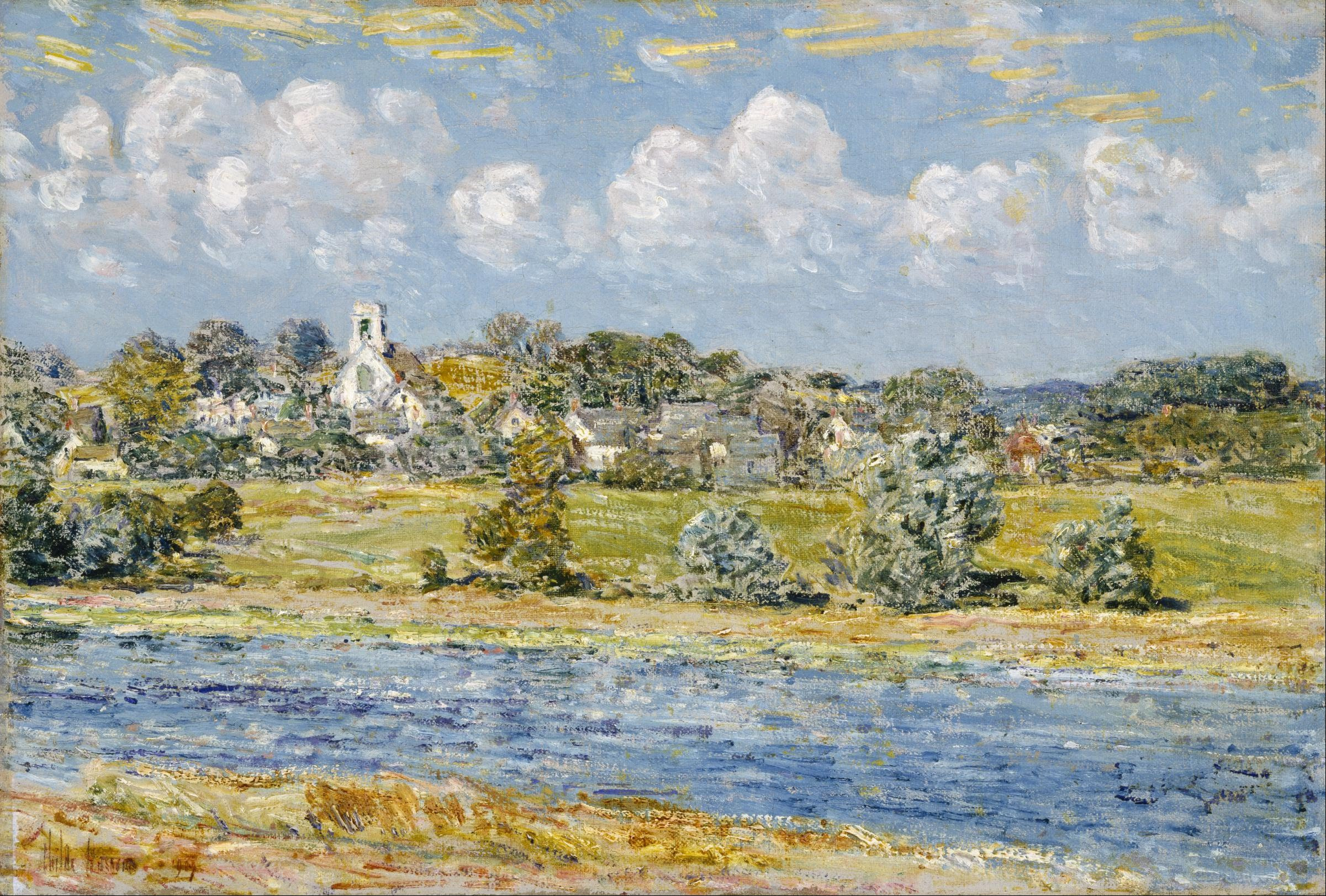 File Childe Hassam Landscape At Newfields New Hampshire