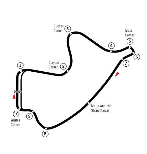 Depiction of Canadian Tire Motorsport Park